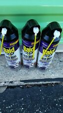 3 pack of Raid Max Bed Bug Crack & Crevice Foaming Spray