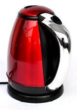 Hervidores de cocina color principal rojo de acero inoxidable