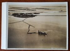 Aerial Photo * Broad Channel Queens * Brooklyn, New York City Jamaica Bay c.1935