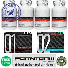 4 Bouteilles Luxxe White Amelioré Glutathione - 60 Capsules 4 MO' Meilleur