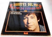 E. Burdon & The Animals Es Gigantes Del Pop 1968 Polydor Spain Import 33rpm VG+