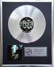 """The Rasmus-Dead letters CD/COVER incorniciato +12"""" decorazione dorata vinile disco"""