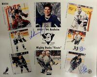 Guy Hebert Kasatonov Yake Corkum Hand Signed Autographed 16x20 Photograph Ducks