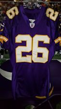 ANTOINE WINFIELD #26 MINNESOTA VIKINGS AUTOGRAHED GAME USED 2004 JERSEY SIZE 46
