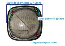 """1pcs 5"""" 137mm Car stereo speaker grilles protection net Car speaker cover"""