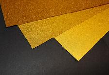 Gold Metallic Sandy Inkjet Printable Film Photo Paper 10 A4 Sheets 100 Micron