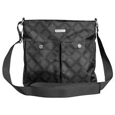 NWT Baggallini Snap It Crossbody Bag Charcoal Link Lightweight water-resistant