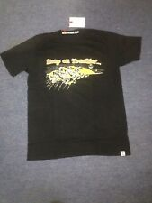 Iron and Resin T Shirt Keep on Trackin True Black Small