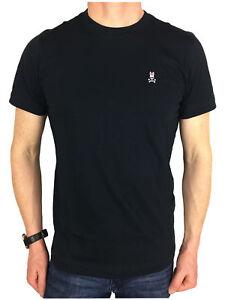 Psycho Bunny Mens S/S Logo Branded T-Shirt in Navy, BNWT, RRP £40