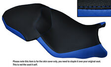 BLACK & ROYAL BLUE CUSTOM FITS BMW S 1000 XR 15-16 DUAL LEATHER SEAT COVER