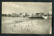 Posted 1953: People on the Beach & Over Lady of the Palm's Balneary, Cadiz