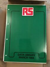 RS Data Library - Electronics Information Sheets. Big Collection March 1984