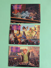lot 3 Carte postale Le bossu de notre Dame Disney Happy meal McDonald's postcard