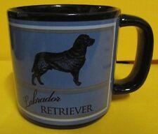 Black Lab Labrador Retriever Coffee Mug hold 16oz Dishwasher Microwave Safe NIB