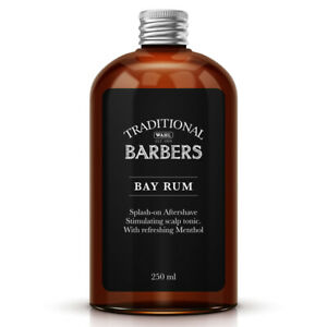 Wahl  Traditional Barbers Bay Rum Aftershave 250ml - Professional Barber -Qualit