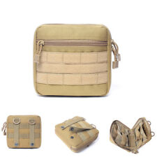 Tactical Molle EDC Medical First Aid Pouch Emergency Kit Utility Tool Waist Bag