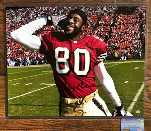 San Francisco 49ers JERRY RICE signed autographed 16x20 Mounted Memories coa