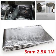 2.5×1M Car Firewall Floor Heat Shield Mat Door Engine Insulation Noise Deadening