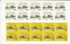 Guyana, Postage Stamp, #663-664 Mint Nh Block 10, 1983 Ship, Jfz