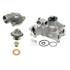 Mercedes W202 C280 W210 E320 1997 Water Pump w/ Oil Cooler & Thermostat KIT