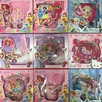 Frozen Sofia Princess Snow White Hello Kitty Kids Girls Makeup Toy Set 4 Pcs AU