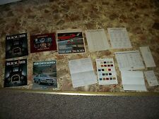 1978 Buick pontiac chevrolet Dealer booklets paperwork paint code sheet