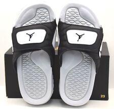 new concept 4b814 498cf Jordan Hydro XII Retro BG Black Black Pure Platinum US Size 6Y FREE  SHIPPING NEW