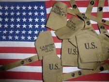 US M1  GARAND M1  couvre museau protection canon USM1 canvas muzzle housse cover