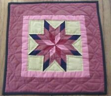 PA Amish Lone Star TABLE Doll Quilt Lancaster County #4