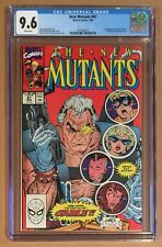 NEW MUTANTS #87 • CGC 9.6 • 1st App CABLE • White Pages 1991 Marvel Comics