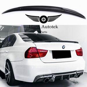 Full Carbon Fiber Rear Spoiler P-Style For BMW 3 Series Sedan E90 M3 325i 335i