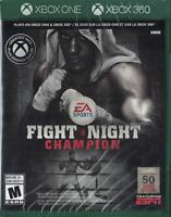Fight Night Champion [Microsoft Xbox One 360 Sports Boxing EA Games] NEW