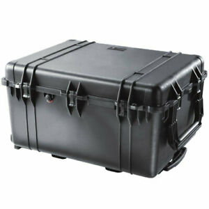 Pelican 1630 Protector Case Hard Wheeled Rolling Travel Case with Foam & Tray