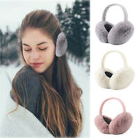 Winter Warm Cute Ear Warmers Women Outdoor Foldable Earmuffs Ear Warmers Earmuff