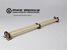 """Pipe Works Ground Level Double Coupler & 16"""" pipes 28mm terrain 40k necromunda"""