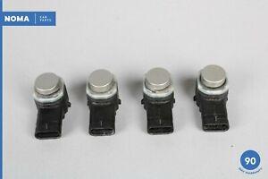 10-18 Jaguar X351 XJL XF Parking Aid Proximity Sensor Set of 4 OEM
