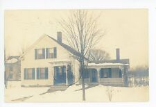 Attleboro MA RPP Beautiful Wooden Colonial House in Winter—Snow Photo 1911
