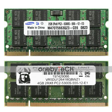 New 6GB 2G+4G PC2-5300 DDR2-667Mhz 200pin Sodimm For MacBook Pro iMac Memory RAM
