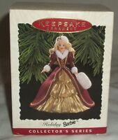 Christmas Ornament Xmas Holiday Hallmark Barbie Doll Keepsake Collector 1996