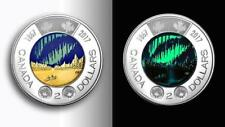 4 x Glow in the Dark - Canada 1867 - 2017 $2 Toonie Coin Fresh Mint Roll - Unc