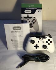 Wired Xbox One Controller - PDP White Edition Boxed (USED)
