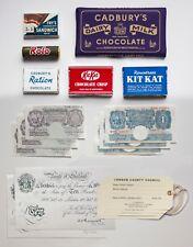 WW2 School Evacuee Practical Learning Set - Chocolate, sweets, evacuation tags