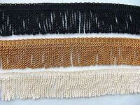 """5 Yards or More ~ 2 1/4"""" Quality Chainette Bullion Fringe Trim  CHOICE of COLORS"""
