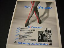 Inxs Bitter Tears has legs Uh-Huh Uh-Huh 1991 Promo Poster Ad mint condition