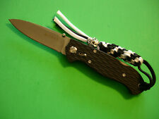 "NTSA CRKT ""LAKE III"" 4"" CLOSED LOCKBACK POCKET KNIFE #7255Z"