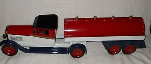1930s Large 45in Fuel Tanker by Ron Lytle Buffalo Commons Creations RARE BEAUTY