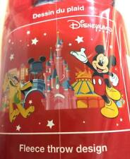 Disney Mickey Mouse in Disneyland Paris Fleece Blanket