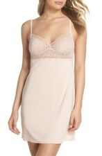 B.tempted by Wacoal Undisclosed Lace Chemise Color: Rose Smoke Size: M