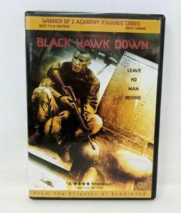 Black Hawk Down (DVD, 2002, Widescreen, Rated R) Josh Hartnett FP20