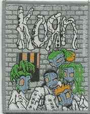 KORN asylum 1999 - WOVEN SEW ON PATCH official merchandise - no longer made RARE